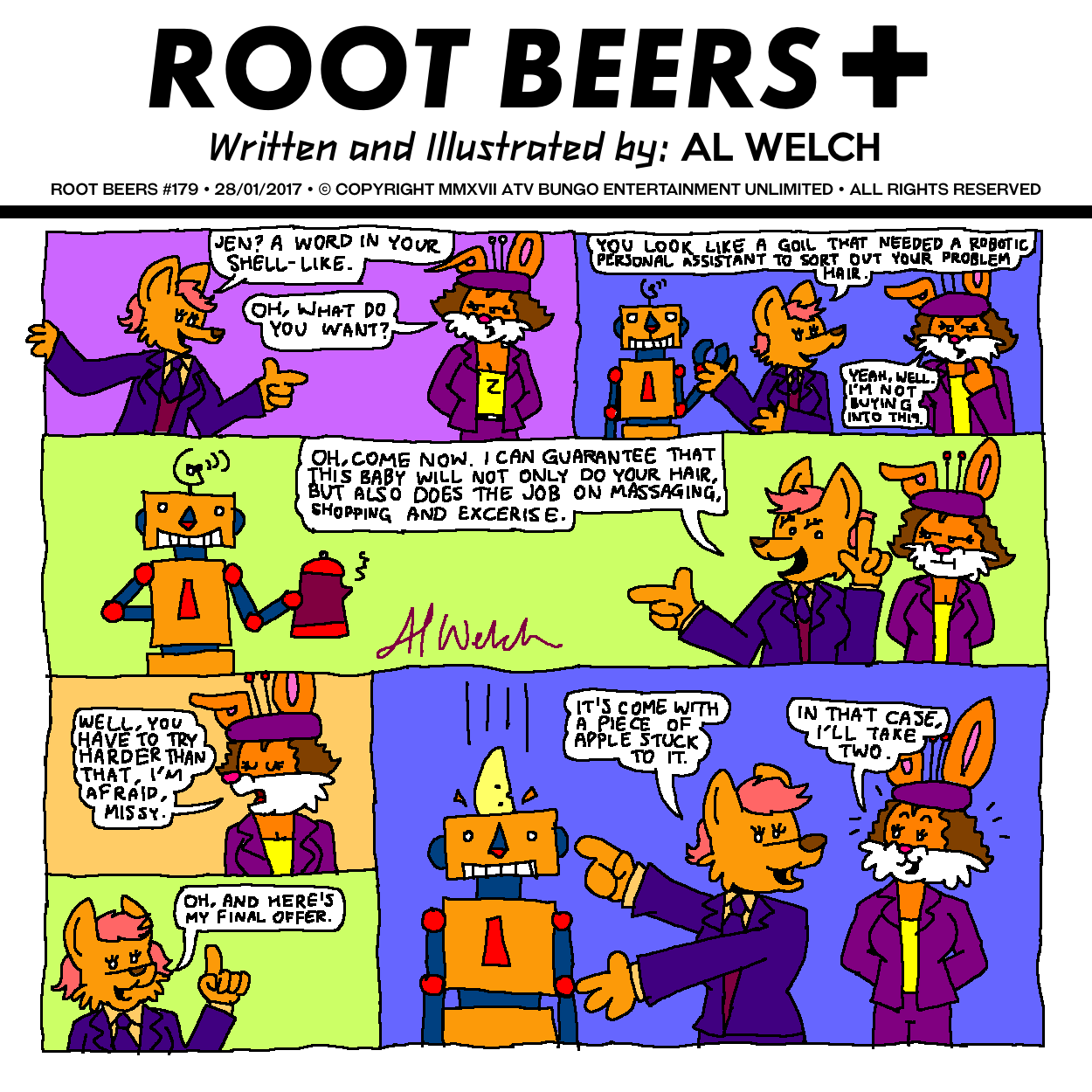 Root Beers #179: The Future's Apple?