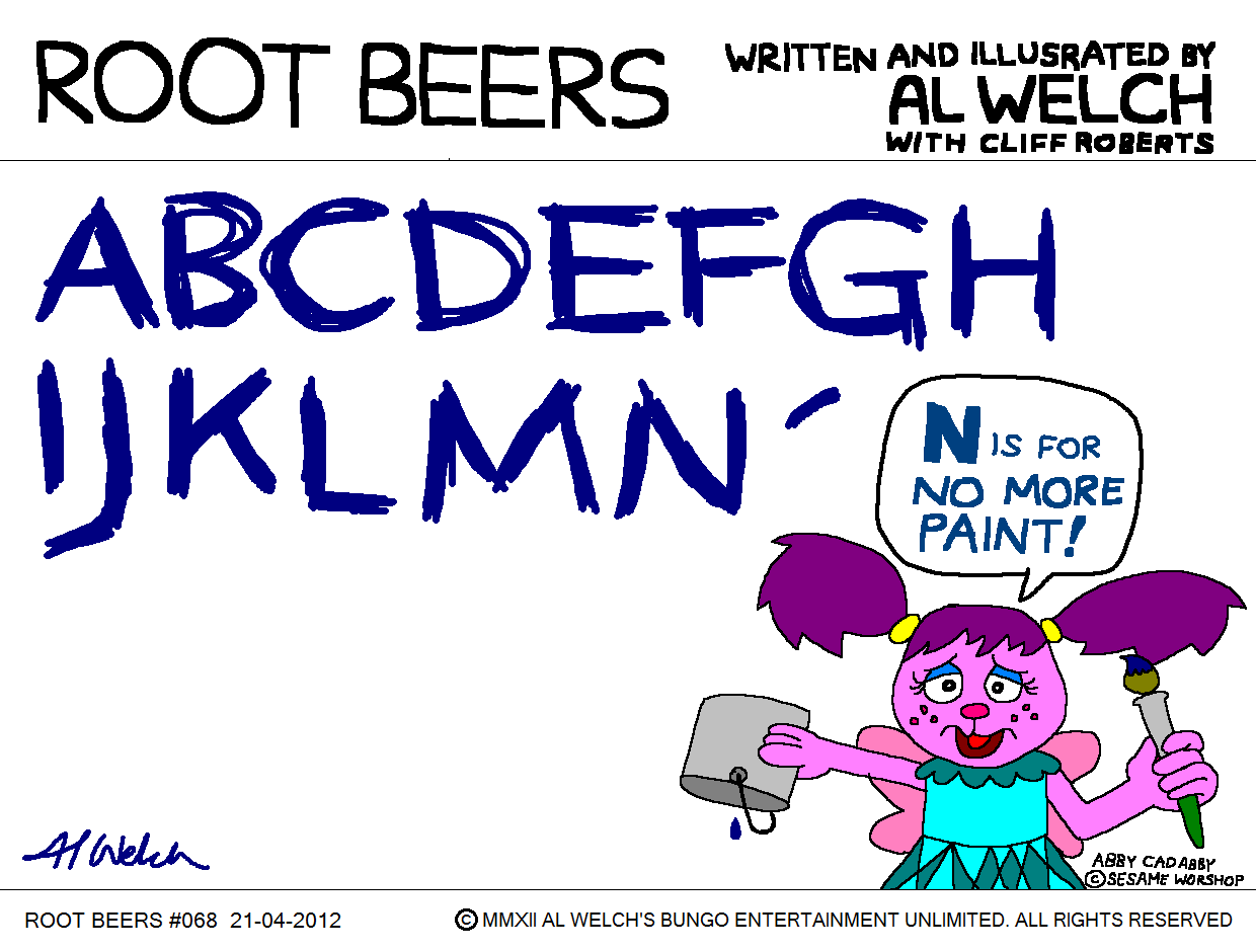 Root Beers 068 - What's the Name of That Comic?