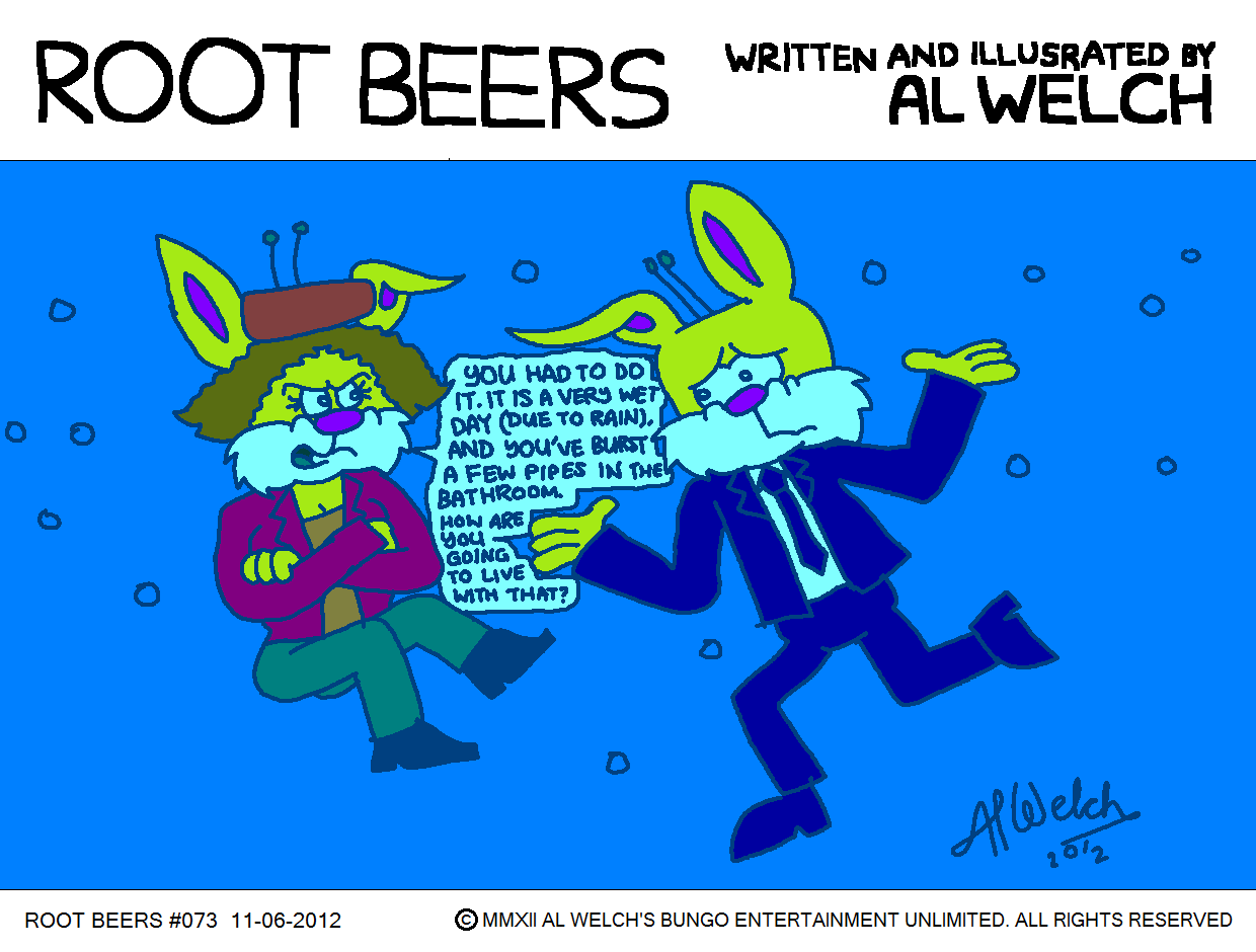Root Beers 073 - Oooh, WET a minute...