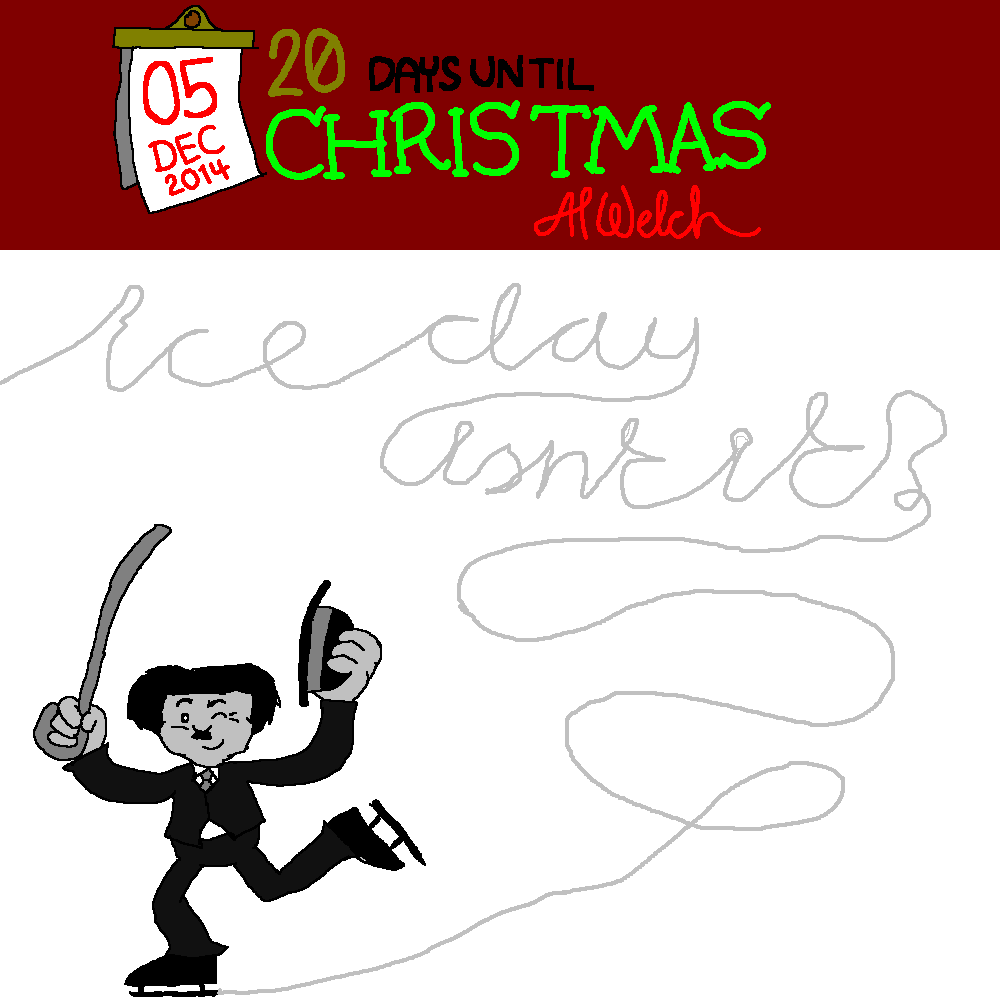 Advent 2014: Day 6: ''Ice to see you...